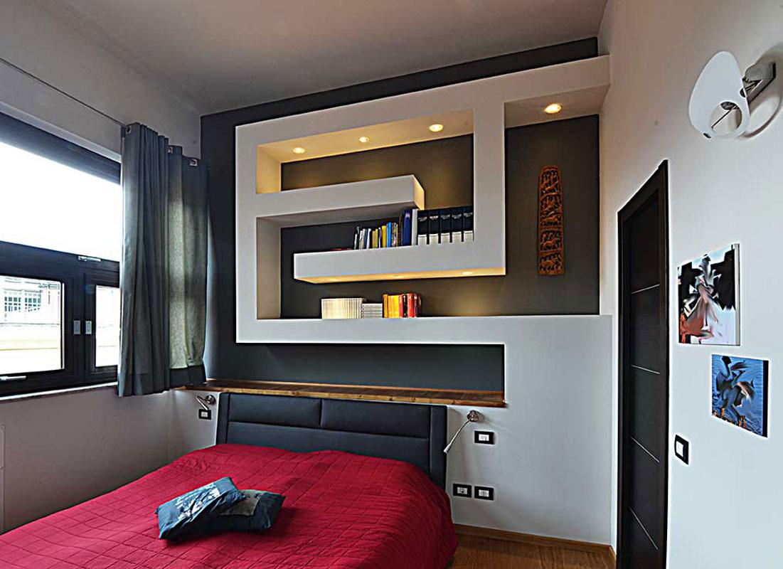 1-bianchibosoni-architetti-savona-libreria-camera-da-letto - Bianchi ...